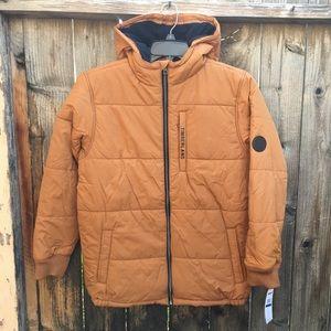 Timberland Boys Hooded Jacket Fleece Lined - New